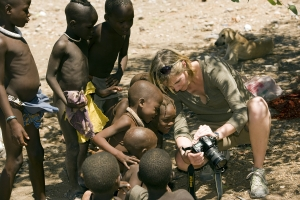 Himba community in Namibia