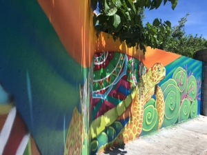Isla Mujeres, Mexico mural project