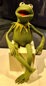 Kermit the Frog.  Photo from Smithsonian National Museum of American History - Wikimedia Commons.