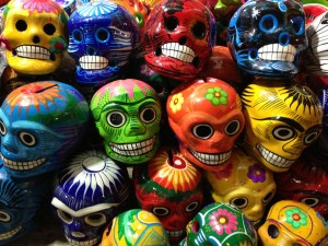 Skulls - Veracruz, Mexico.  Copyright Reefs to Rockies.